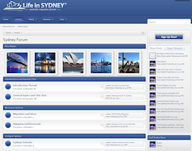 Moving to Sydney Forum